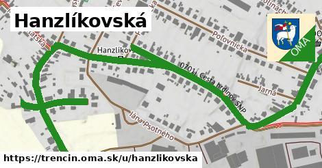 ilustrácia k Hanzlíkovská, Trenčín - 1,26km