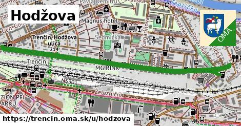ilustračný obrázok k Hodžova, Trenčín