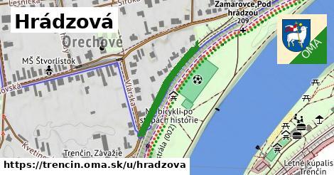 ilustrácia k Hrádzová, Trenčín - 239m
