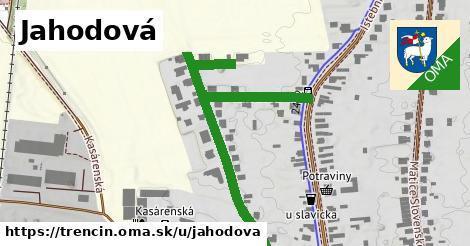 ilustrácia k Jahodová, Trenčín - 447m