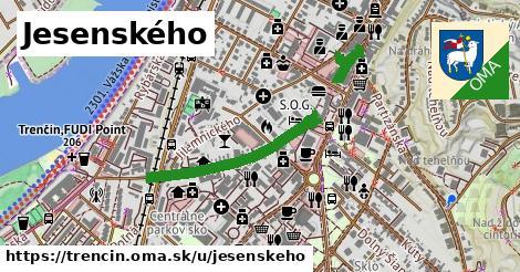ilustrácia k Jesenského, Trenčín - 0,73km