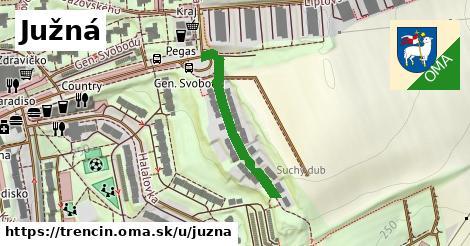 ilustrácia k Južná, Trenčín - 263m