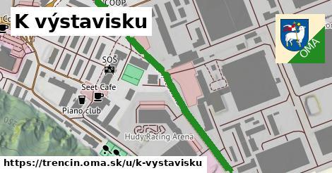ilustrácia k K výstavisku, Trenčín - 653m