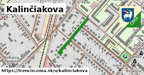 ilustrácia k Kalinčiakova, Trenčín - 269m