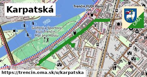 ilustrácia k Karpatská, Trenčín - 0,89km