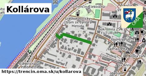ilustrácia k Kollárova, Trenčín - 202m