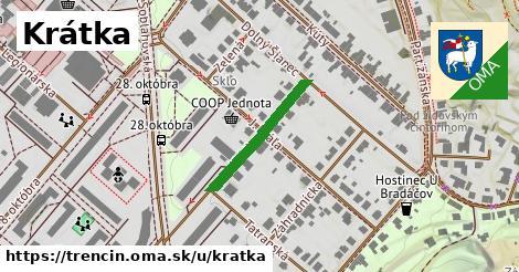 ilustrácia k Krátka, Trenčín - 207m