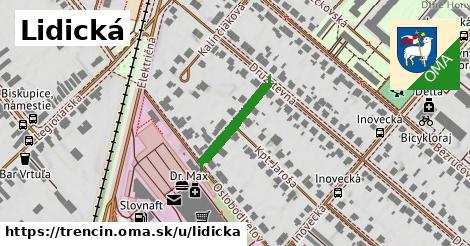 ilustrácia k Lidická, Trenčín - 172m