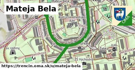 ilustračný obrázok k Mateja Bela, Trenčín