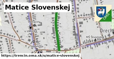 ilustrácia k Matice Slovenskej, Trenčín - 283m