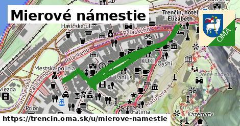 ilustrácia k Mierové námestie, Trenčín - 590m