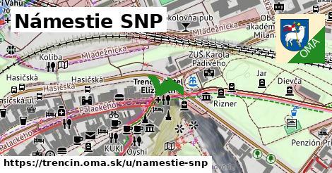 ilustračný obrázok k Námestie SNP, Trenčín