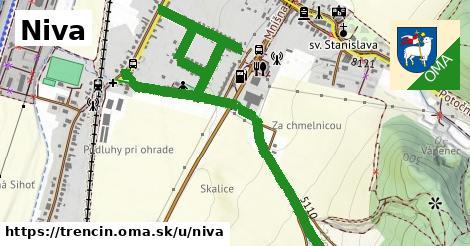ilustrácia k Niva, Trenčín - 1,05km
