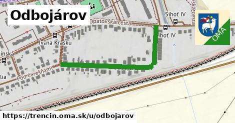 ilustrácia k Odbojárov, Trenčín - 416m