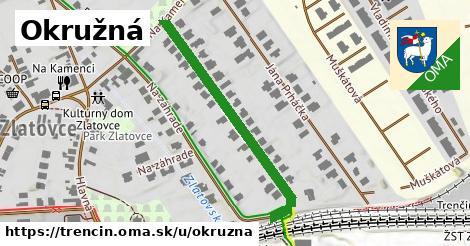 ilustrácia k Okružná, Trenčín - 395m