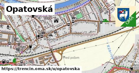 ilustrácia k Opatovská, Trenčín - 3,2km