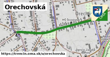 ilustrácia k Orechovská, Trenčín - 531m
