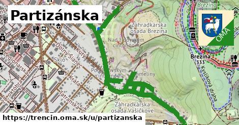 ilustrácia k Partizánska, Trenčín - 1,94km