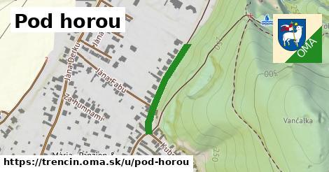 ilustrácia k Pod horou, Trenčín - 198m