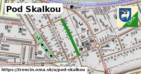 ilustrácia k Pod Skalkou, Trenčín - 209m