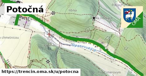ilustračný obrázok k Potočná, Trenčín