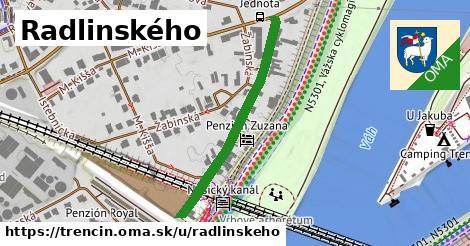 ilustrácia k Radlinského, Trenčín - 354m