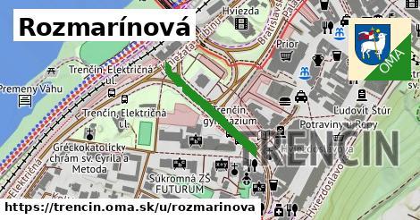 ilustrácia k Rozmarínová, Trenčín - 218m