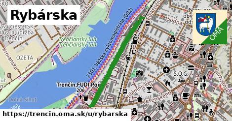 ilustrácia k Rybárska, Trenčín - 664m