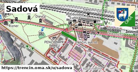 ilustrácia k Sadová, Trenčín - 400m