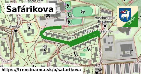 ilustrácia k Šafárikova, Trenčín - 331m