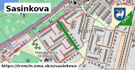 ilustrácia k Sasinkova, Trenčín - 193m