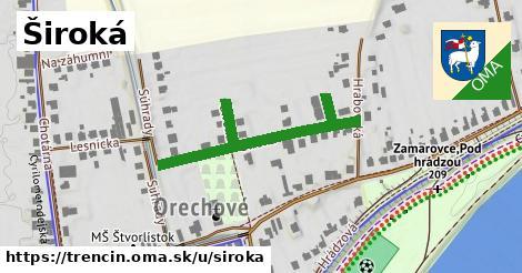 ilustrácia k Široká, Trenčín - 291m