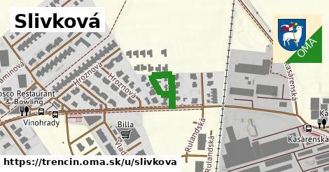 ilustrácia k Slivková, Trenčín - 189m