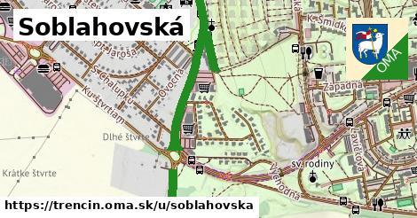 ilustrácia k Soblahovská, Trenčín - 3,0km