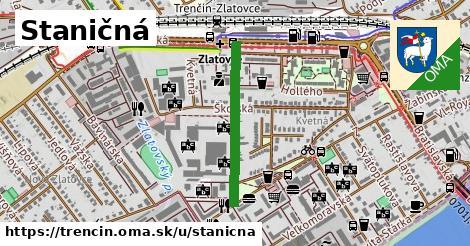 ilustrácia k Staničná, Trenčín - 517m