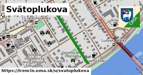 ilustrácia k Svätoplukova, Trenčín - 318m