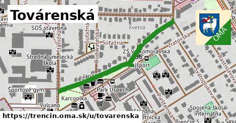 ilustrácia k Továrenská, Trenčín - 464m