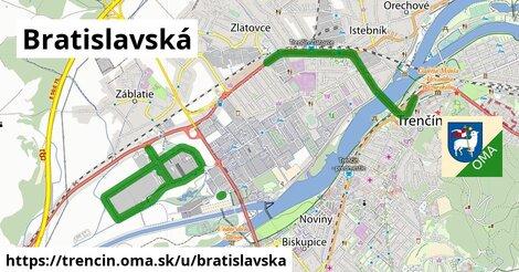 ilustrácia k Bratislavská, Trenčín - 6,0km