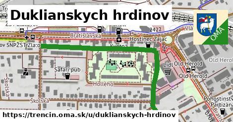 ilustrácia k Duklianskych hrdinov, Trenčín - 611m