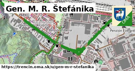 ilustrácia k Gen. M. R. Štefánika, Trenčín - 3,5km