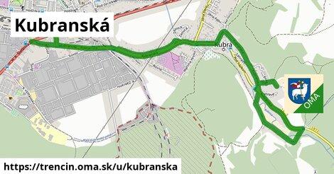 ilustrácia k Kubranská, Trenčín - 2,8km