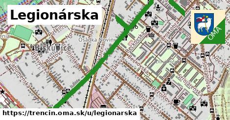 ilustrácia k Legionárska, Trenčín - 3,4km