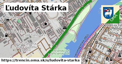 ilustrácia k Ľudovíta Stárka, Trenčín - 2,6km