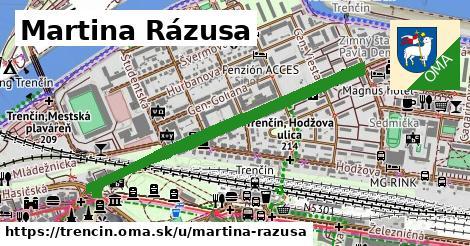 ilustrácia k Martina Rázusa, Trenčín - 1,75km