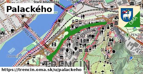 ilustrácia k Palackého, Trenčín - 1,16km