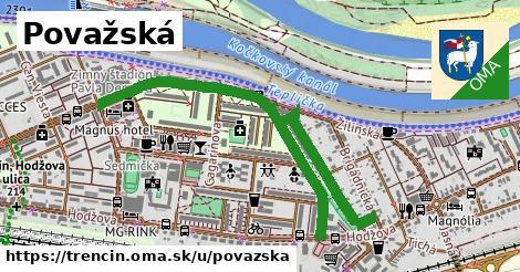 ilustrácia k Považská, Trenčín - 1,41km