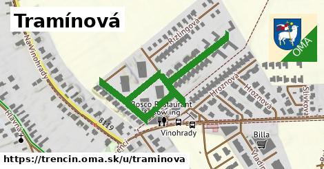 ilustrácia k Tramínová, Trenčín - 538m