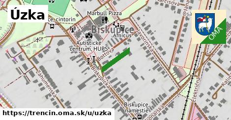 ilustrácia k Úzka, Trenčín - 169m