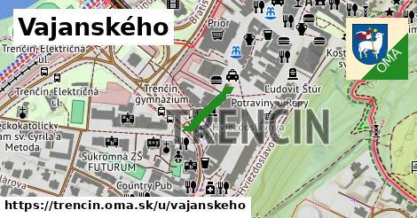 ilustrácia k Vajanského, Trenčín - 419m