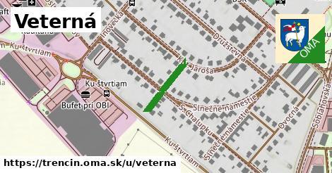 ilustrácia k Veterná, Trenčín - 137m